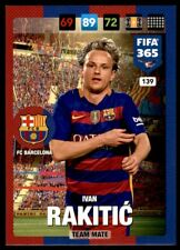 Panini 365 Adrenalyn XL 2017 Ivan Rakitić FC Barcelona Team Mates No. 139