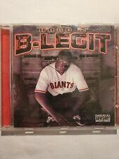 New ListingB-Legit : Hard 2 B-Legit Rap/Hip Hop 1 Disc Cd Preowned 14 tracks ric roc