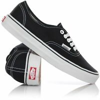 Vans Shoes Authentic Black White USA SIZE Classic Skateboard Sneakers