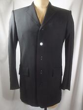 DOLCE & GABANNA Five Button Slim Fit Black Blazer Jacket 46