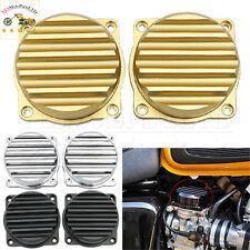 Gold Carburetor Cover Ripple For Triumph Bonneville Scrambler Thruxton 2008-2015