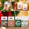 Lovely 45x Merry Christmas Paper Stickers Decor Ablum Diary Scrapbooking Label