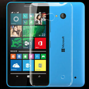 Clear Case Cover for Nokia lumia 520 535 625 630 638 transparent Gel back soft