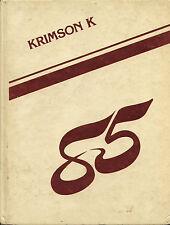 REPRINT: 1985 or 86 or 87 Nile C. Kinnick High School Yearbook - Yokosuka, JAPAN