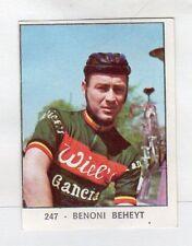 figurina PANINI CAMPIONI DELLO SPORT 1966-67 CICLISMO N. 247 BEHEYT
