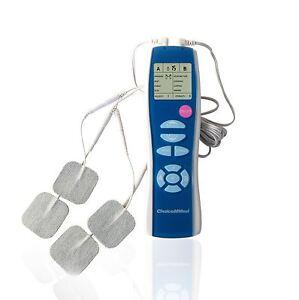 ChoiceMMed MDTS116 Tens Machine Pulse Stimulator 2-Channel 8-Mode