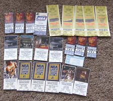 1990s INDIANA PACERS TICKET COLLECTION - REGULAR GAMES & PLAYOFFS