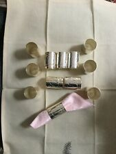 Napkin Rings set of 12 Hammered Silver