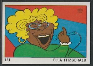 1973 Ella Fitzgerald Card Panini OK VIP #131