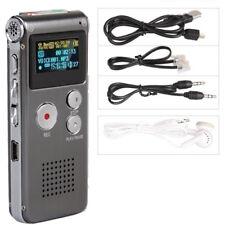 REGISTRATORE VOCALE TELEFONICO 4GB MICROSPIA LETTORE MP3 E3U8
