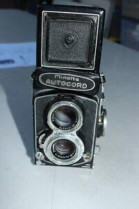 MINOLTA AUTOCORD L Chiyoko TLR Camera Rokkor 75mm F/3.5