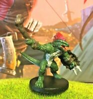 DUNGEONS AND DRAGONS MINIATURE RAGE OF DEMONS LIZARDFOLK FIGHTER #11