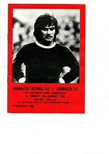 Arbroath Victoria v Arbroath 1982 - 1983 friendly - including George Best