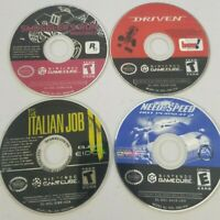 Nintendo Gamecube  Lot | 4 Games | Tested (Need for Speed 2, Driven.) DISCS ONLY