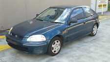 Honda Civic EK CXi Wrecking Salvage Parts Wheel Nut Bolt 1997 Green