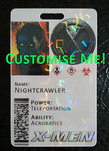 X-Men Xavier's School For Gifted Youngsters Novelty ID Card - FULLY CUSTOMISABLE