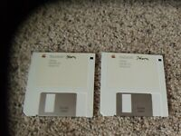 "Macintosh System Tools Version 5.0 on 3.5"" disks"