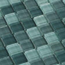 Mosaicos DE VIDRIO AZULEJOS Mosaicos Crystal Verde Menta MIX 8 mm
