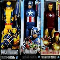 Marvel Super Heros The Avengers Thor Iron Man Spider Man Captain American 30cm