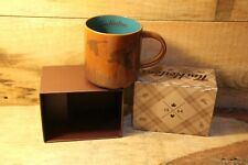 TIM HORTONS 2017 Limited Edition Coffee Mug - Brown With Geese New In Gift Box