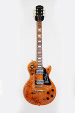 Jazz legends hand SIGNED Electric Guitar x 21 Shorter Hancock Golson Corea COA