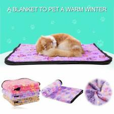 3Pcs Soft Warm Pet Fleece Blanket Bed Mat Pad Cover Cushion For Dog Cat Puppy Us