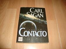 CONTACTO DE CARL SAGAN LIBRO PRIMERA EDICION DEL AÑO 1986 USADO EN BUEN ESTADO