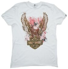H D Classic Authentic Harley Davidson Eagle bar Shield Wings Vintage T-SHIRT S