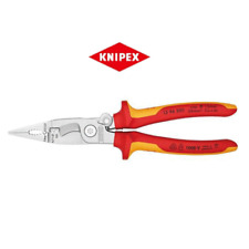 """Knipex Insulated Plier 13 96 200 SB(8"""")  200mm Pliers"""