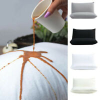 1 Pair Of Hotel Pillowcase Waterproof Solid Zipper Pillow Protector Cover New