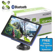 "8GB 7"" Car GPS SAT NAV Navigation System FM Speedcam Free POI US maps"
