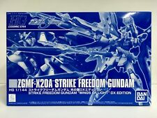Premium Bandai Hg Zgmf-X20A Strike Freedom Gundam Wings of Light Dx Edition Jpn