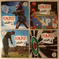 'Hard Hits' 4CD JUMBO Pack (Volumes 1-4) - Great Reggae One Drop Collection
