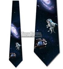 Space Cat Tie Men's Galaxy Funny Neck Ties Necktie Brand New