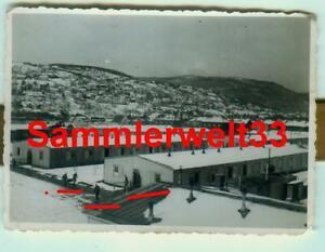 Foto Soldaten / Kaserne in TRONDHEIM / NORWEGEN 1941 !!! TOP !!! F378