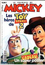 LE JOURNAL DE MICKEY n°2485 ¤ 2000 ¤ AVEC CADEAU LE POSTER DE TOY STORY 2