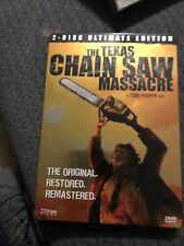 The Texas Chainsaw Massacre (DVD, 2006, 2-Disc, Ultimate Edition, Steel Case)