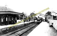 Buchlyvie Railway Station Photo. Balfron to Port of Menteith and Aberfoyle. (1)