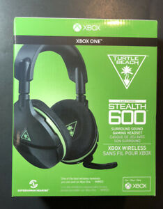 Turtle Beach Ear Force Stealth 600 Surround Sound XBOX Wireless Headset NEW