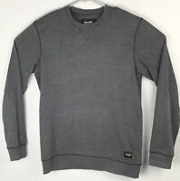 Only And Sons Pullover Gray Long Sleeve Sweatshirt Mens M Medium