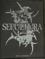 SEPULTURA PATCH / AUFNÄHER # 14
