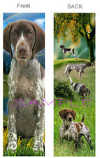 GERMAN SHORTHAIRED POINTER BOOKMARK Hunting DOG Book ART Card Figurine Ornament