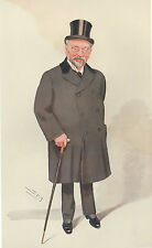1909 Original Vanity Fair Imprimé ~ Sir Horace Regnart JP ~ Spy