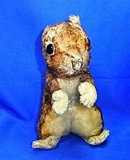 Original Vintage German Stuffed Animal Steiff Squirrel without Button #Bo10