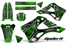 KAWASAKI KX125 KX250 99-02 GRAPHICS KIT CREATORX DECALS SPIDERX SXG