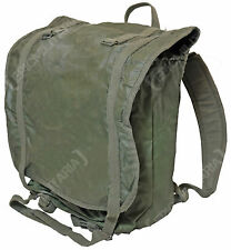 Original French Army F1 BACK PACK - Stamped Canvas - Issued MAFCA Military Bag