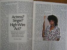 1985 TV Guide (MADONNA/PRINCE CHARLES  AND  DIANA/TELMA  HOPKINS/PETER  SCOLARI)