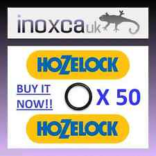 "50 HOZELOCK REPLACEMENT ""O"" RINGS O-RING RUBBER SEAL GASKET KIT QUICK CONNECT 50"