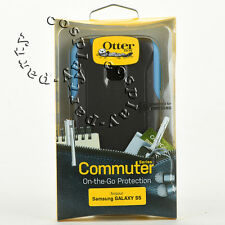 OtterBox Commuter 2-Layers Slim Case Snap Cover For Samsung Galaxy S5 Gray/Blue
