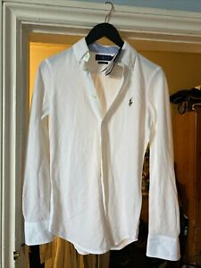 BNWT Ralph Lauren Mens White Shirt Size Small
